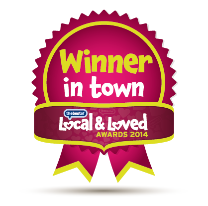 Winner in town - Local & Loved Awards 2014