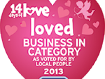 Loved Business in Category 2013