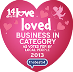14 Days of Love - Loved BUSINESS IN CATEGORY 2013