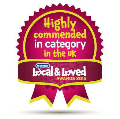 Highly commended in category, in the UK - Local & Loved Awards 2015