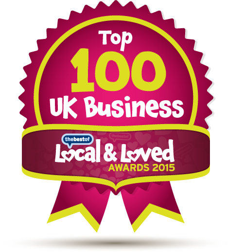 Top 100 UK Business - Local & Loved Awards 2015